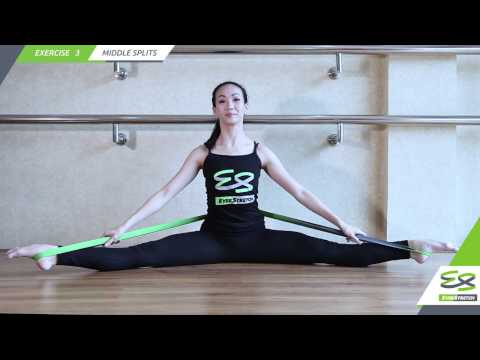 EverStretch Stretching Band Exercise 3: Middle Splits