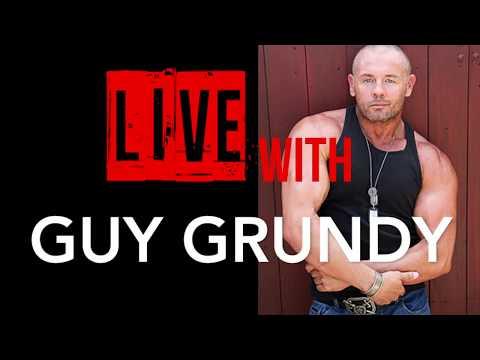 Live With Aussie Actor and Bodybuilder Guy Grundy
