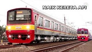 NAIK KERETA API ~ Lagu Anak Indonesia Terpopuler | Asiknya Naik Kereta LRT, KRL & KAI