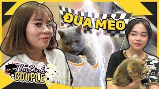 Thử thách Đua mèo và hình phạt Hát giữa đám đông    ThyLinh Show - Tập 3