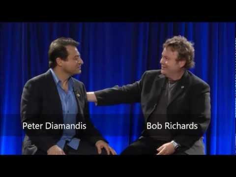 ISU 25th Anniversary - Peter Diamandis & Bob Richards - 12 April 2012
