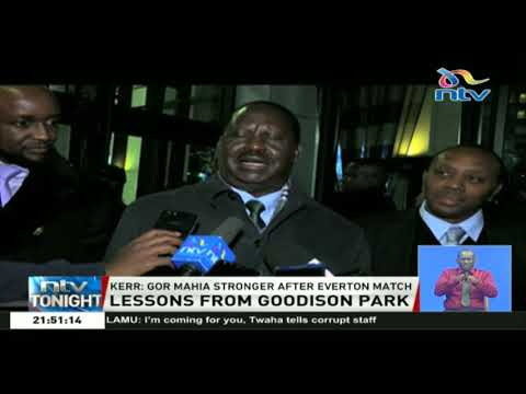 Raila Odinga: Gor Mahia can do better if Kenya can invest more in soccer facilities