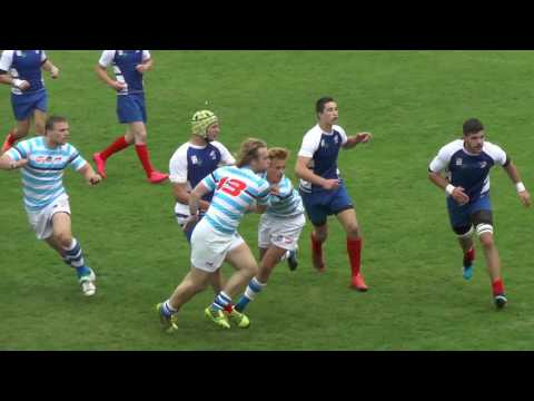 Czech republic U20 - France U20 rugby match