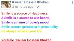 How To Update/Write Colorful Status With Colorful Text On Facebook.|| All Colors Supported ||