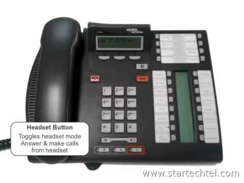 Nortel Phone System Basics - Startechtel com