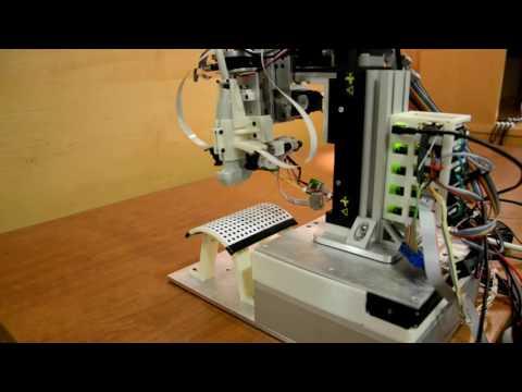 Robotic Venipuncture - Needle Positioning