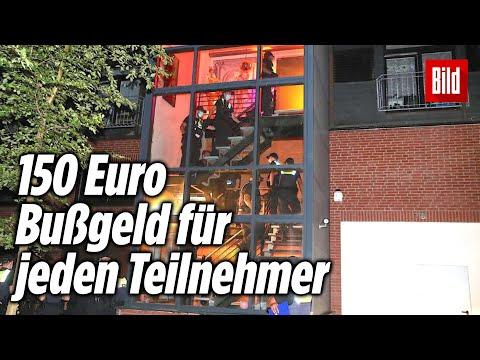 Corona-Razzia: Polizei beendet Swinger-Party | Hamburg