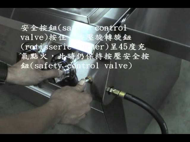 Safety decive usage method for Infrared BBQ grill