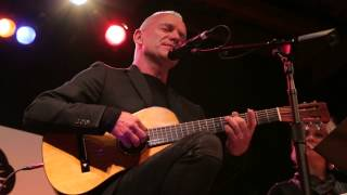 Sting New Song Dead Man's Boots at Cherrytree Records Showcase