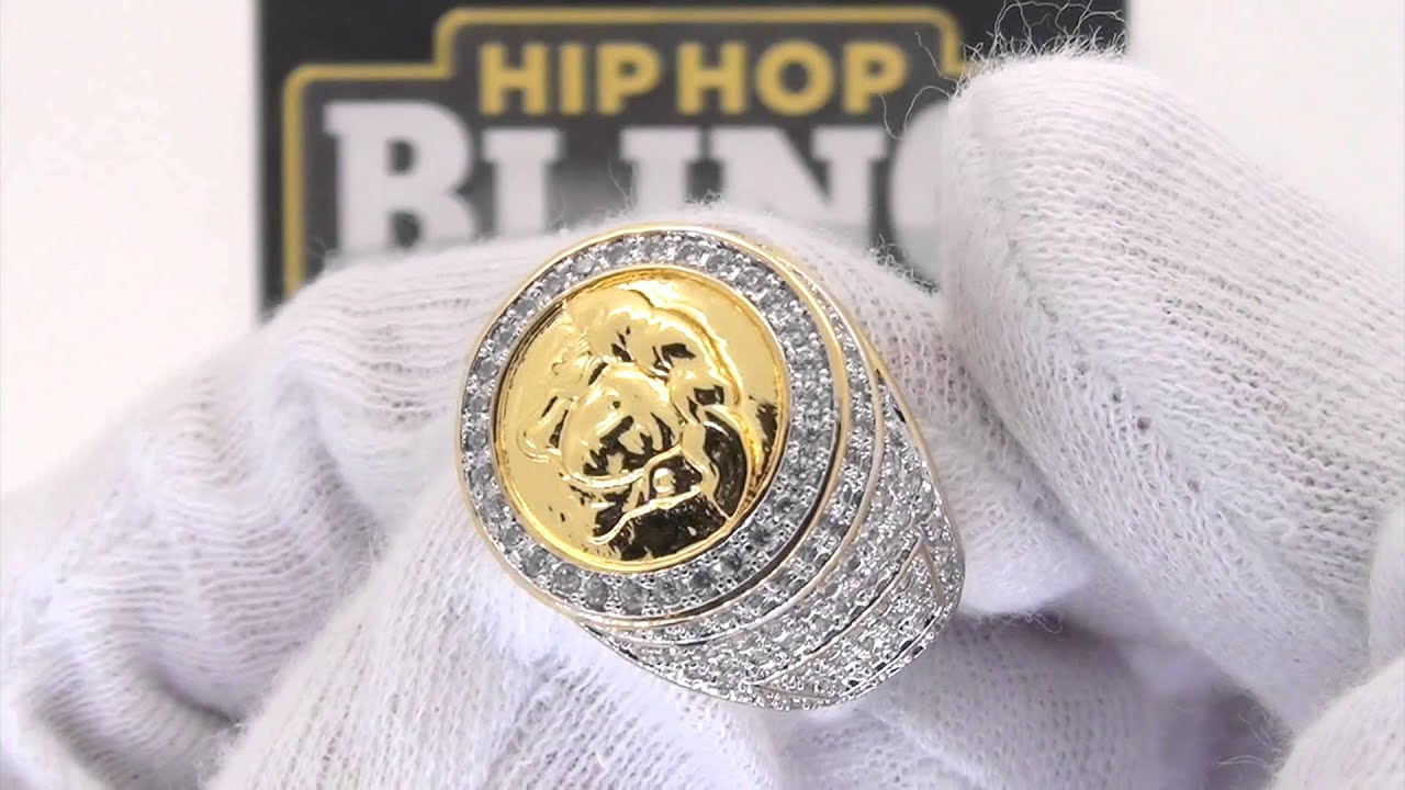 Versace Ring Real Gold