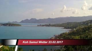Gambar cover Koh Samui Wetter (Thailand) 23.02.2017