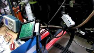 Testing Komatsu engine with Sinoptik ECU system for common rail-1