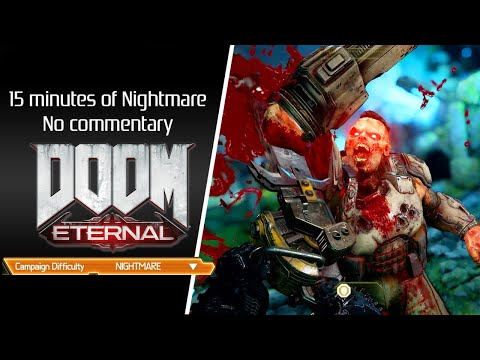 Doom Eternal (2020) Nightmare difficulty, No commentary
