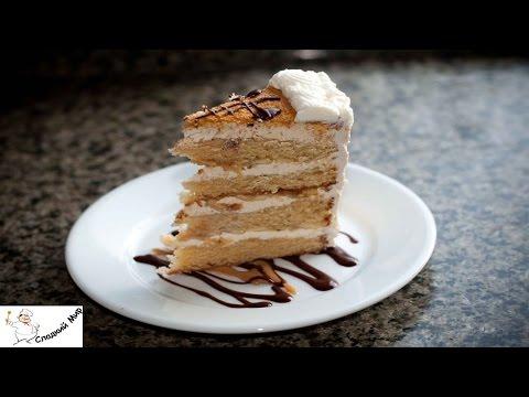 Банановый торт пошаговый рецепт с фото на Поварру