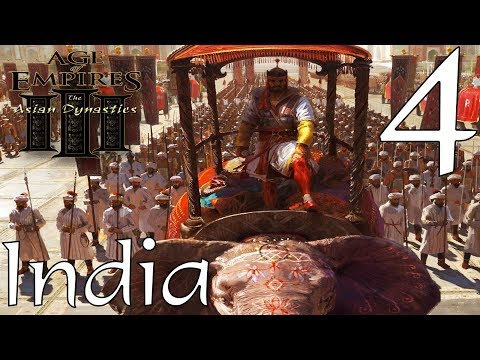 Age of Empires III India Mission 4 Raid in Delhi