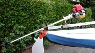 Kayakmotor,Heckanbau 007,Kanu motor, Faltbootmotor,Moteur Kayak, Folding  kayak motor