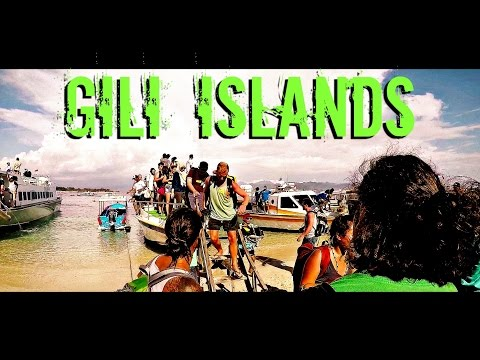 BACKPACKING: FUN ON THE GILI ISLANDS (PART 1)