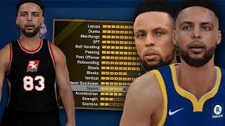 THE BEST BUILD ON 2K18! EXACT REPLICA OF STEPH CURRY! NBA 2K18