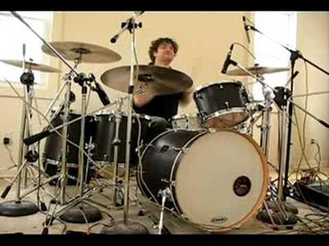 Dennis Leeflang - Jenny B. (Bumblefoot) drum take