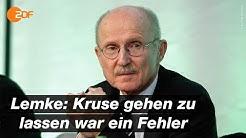 """Ex-Bremen-Manager Lemke: """"Stehen genau da, wo wir hingehören""""   das aktuelle sportstudio - ZDF"""