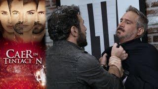 Santiago salda cuentas con Andrés | Caer en tentación - Televisa
