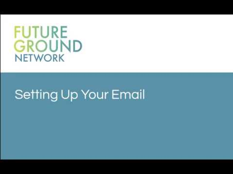 1. Setting Up Your Email