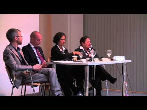 Panel Discussion: Máté Dániel Szabó, Anthony Romero, Sharon Abraham-Weiss. Moderator: Janet Love,