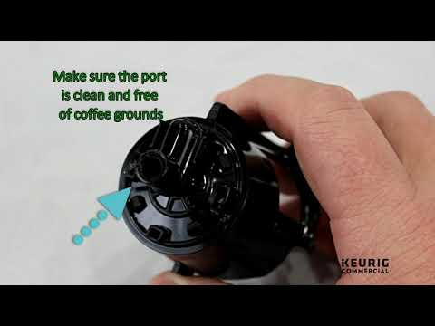 Keurig® K3000SE Puncture Needle Cleaning Procedure