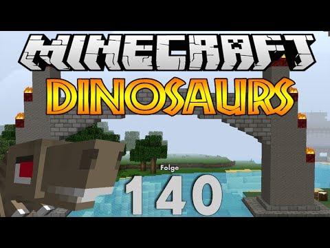 Minecraft Dinosaurs Tor Zum Dinoland HD YouTube - Minecraft hauser verschonern