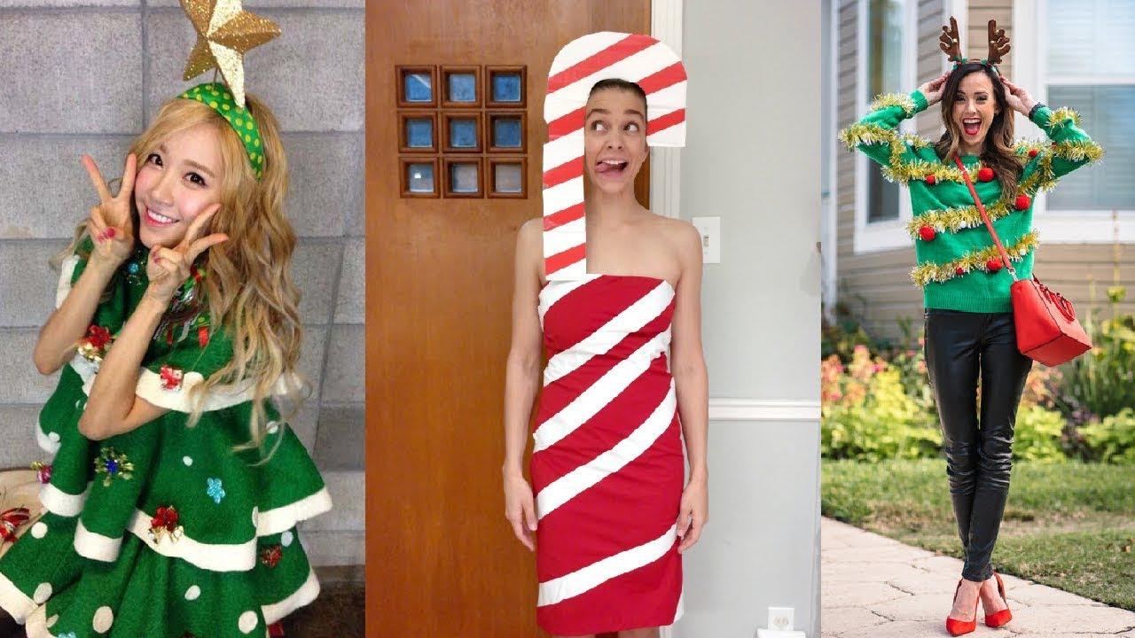 BEST CHRISTMAS COSTUME IDEAS YouTube