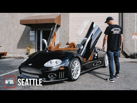 What It's Like To Drive A Spyker! [$350k Dutch Supercar]