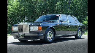1989 Rolls Royce Silver Spur For Sale - Test Drive Video (33K Miles)