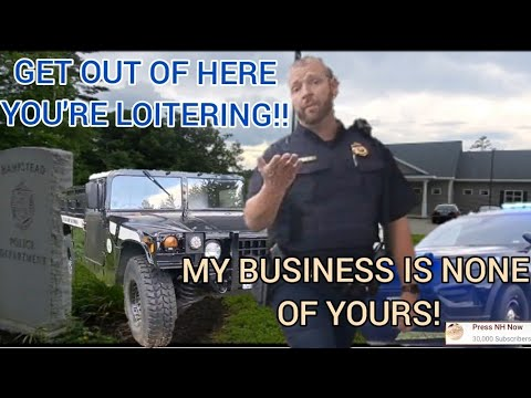 Download *COP DISMISSED* SAYS I'M LOITERING/PROWLING MY BUSINESS IS NONE OF YOURS