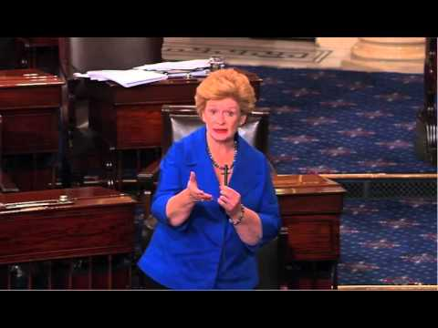 Stabenow takes on Ted Cruz