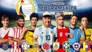 QUIEN sera el CAMPEÓN de la COPA AMÉRICA 2020 | RETOS de FÚTBOL