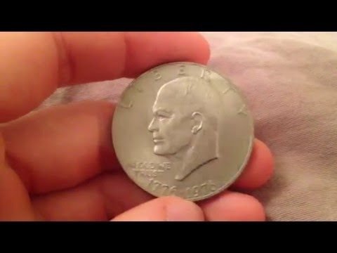 Eisenhower One Dollar Coin Date: 1976