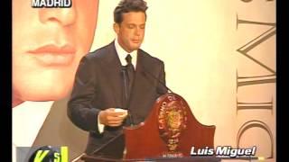 Madrid: Luis Miguel habla de Ricky Martin, Enrique Iglesia -...