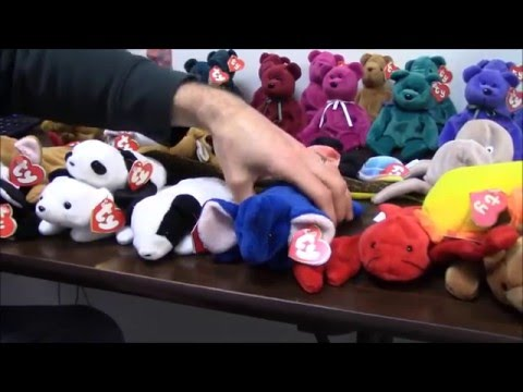 Rarest Ty Beanie Babies Collection