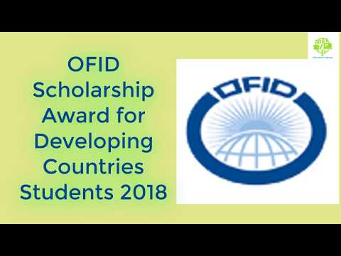 How to Apply for OFID Scholarship Award for Developing Countries Students 2018