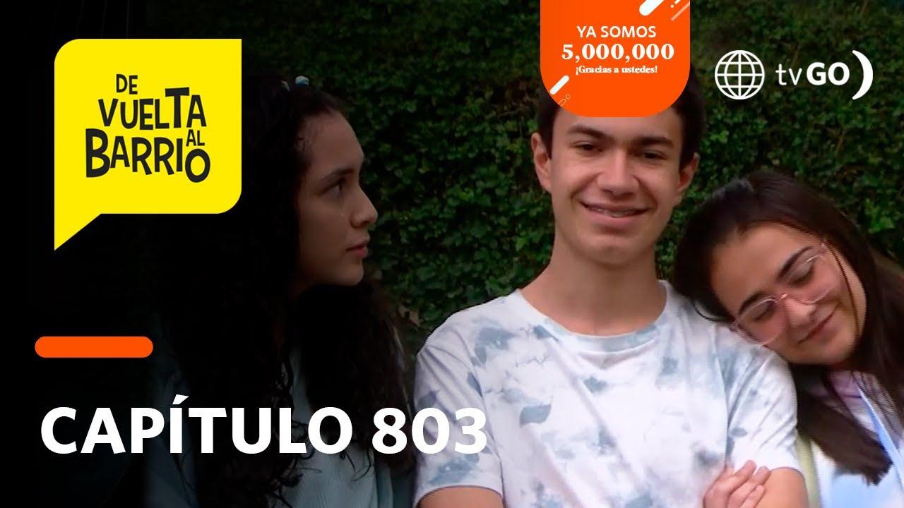 Download De Vuelta al Barrio 4: Alicia empezó a sentir celos de Lily tras cercania a Pedrito (Capítulo n°803)