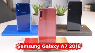 Обзор Samsung Galaxy A7 2018 // Три камеры в