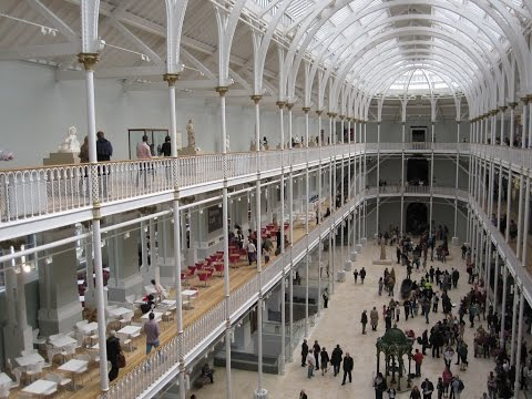 Places to see in ( Edinburgh - UK ) National Museum of Scotland