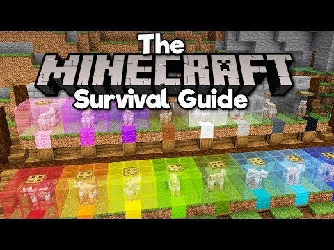 Automatic Sheep-Shearing Wool Farm! ▫ The Minecraft Survival Guide (Tutorial Lets Play) [Part 132]