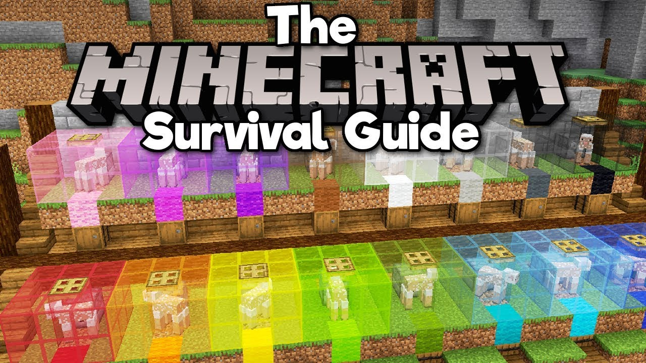 Download Automatic Sheep-Shearing Wool Farm! ▫ The Minecraft Survival Guide (Tutorial Lets Play) [Part 132]