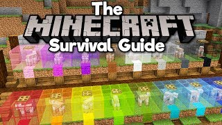 Automatic Sheep Shearing Wool Farm The Minecraft Survival Guide Tutorial Lets Play Part 132 Youtube