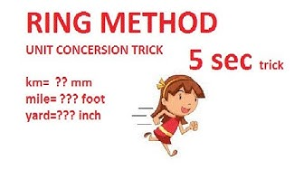 Converting Lengths | Unit Conversion | Ring Method | Easy Trick
