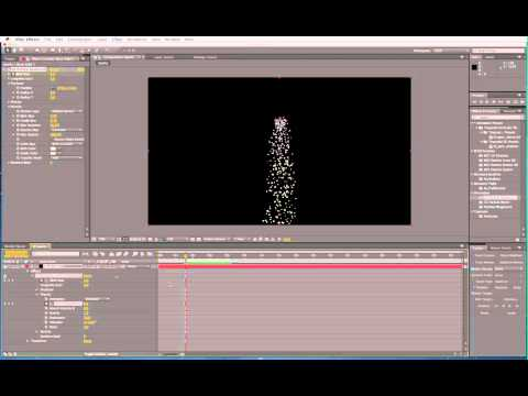 Create dripping metal sparks in After Effects CS6
