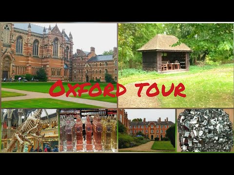 Oxford Tour | Oxford university  | Natural history museum | UK