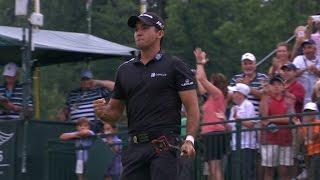 Jason Day's gutsy approach sets up eagle at PGA Championship