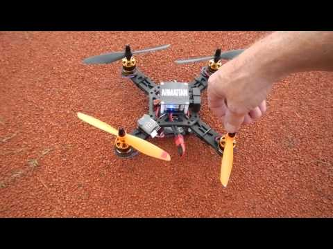 Armattan  CF 258 with RCX 2208-1800 kv  motors